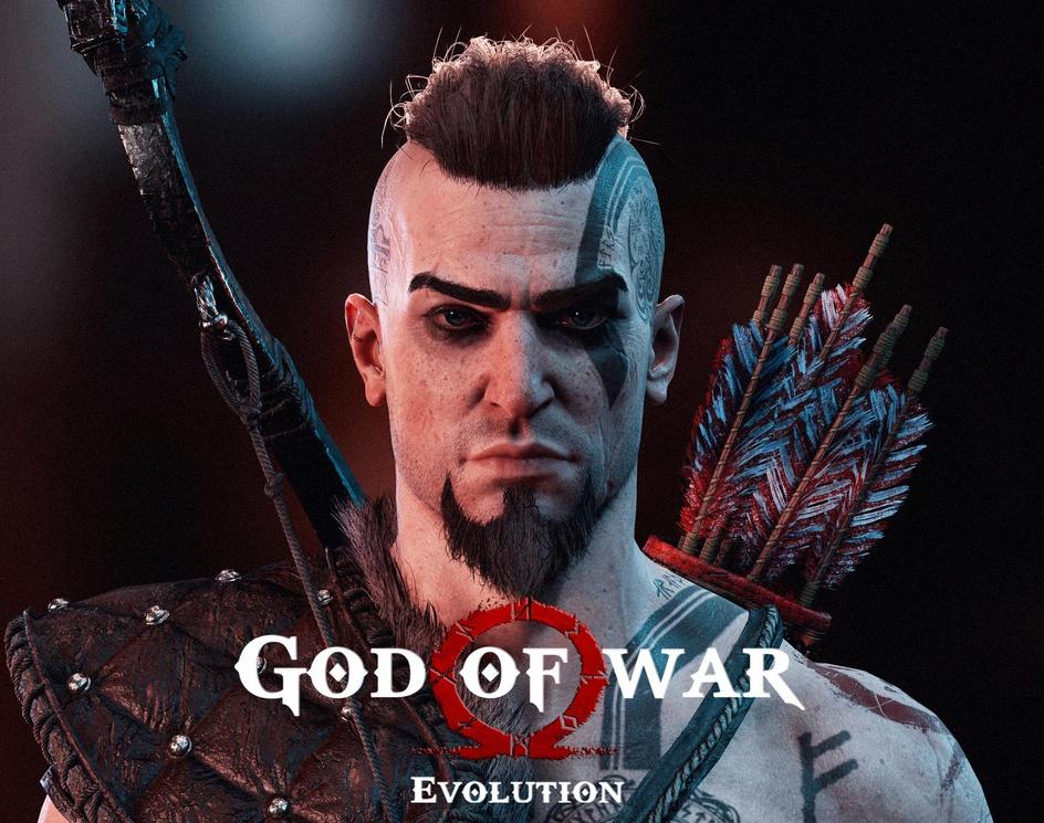 God Of War Evolution - Atreus fanartby Andre_SiK