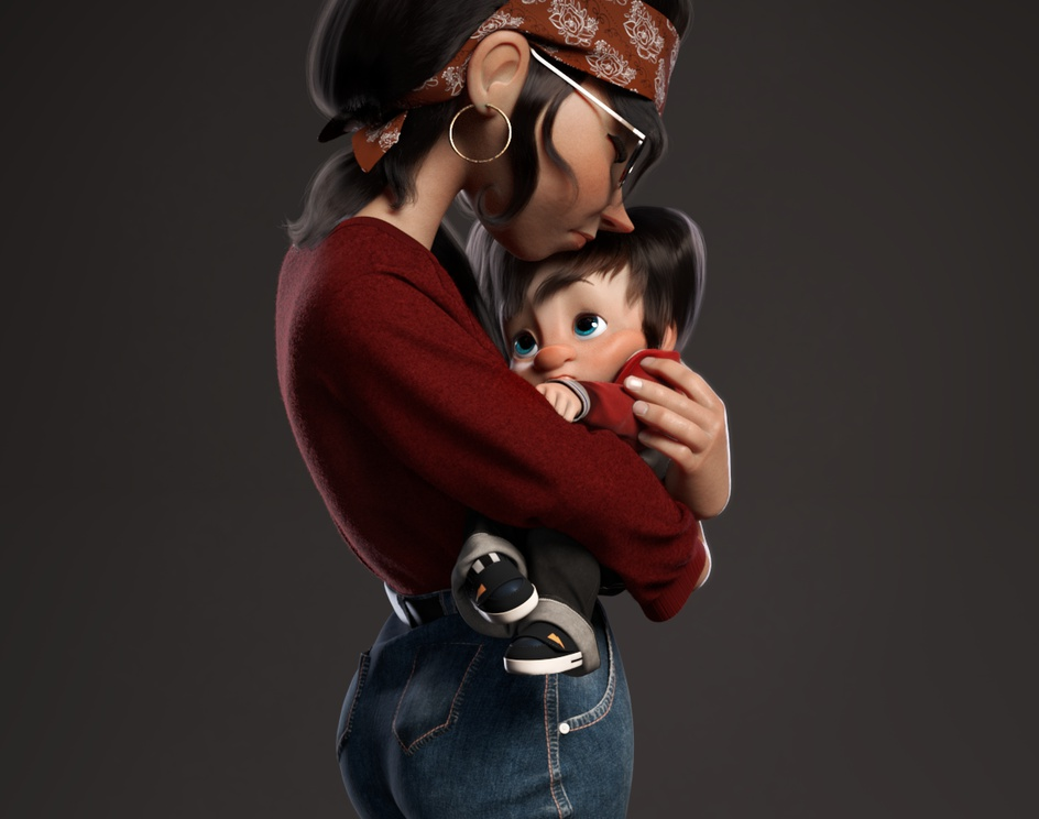 Mother's loveby Gean_Carlos