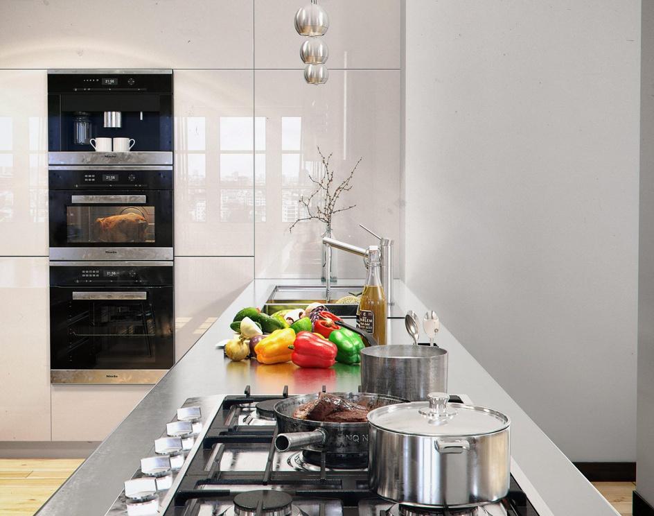 Kitchen of Chromeby Aref Razavi