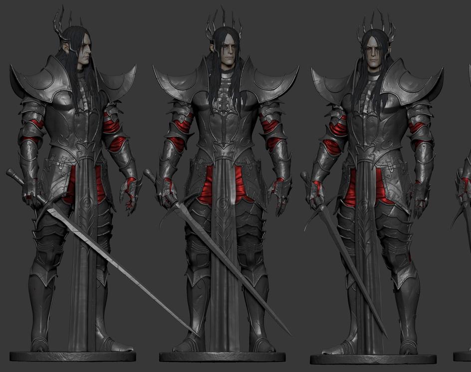 Knight- Character Studyby TusharDobriyal