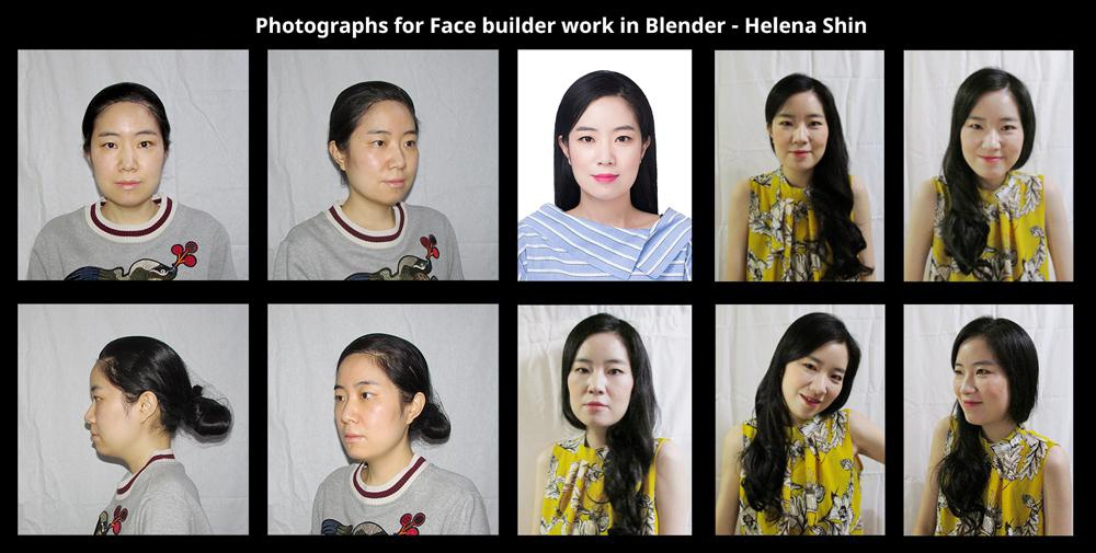 photographs face builder photography realism research model