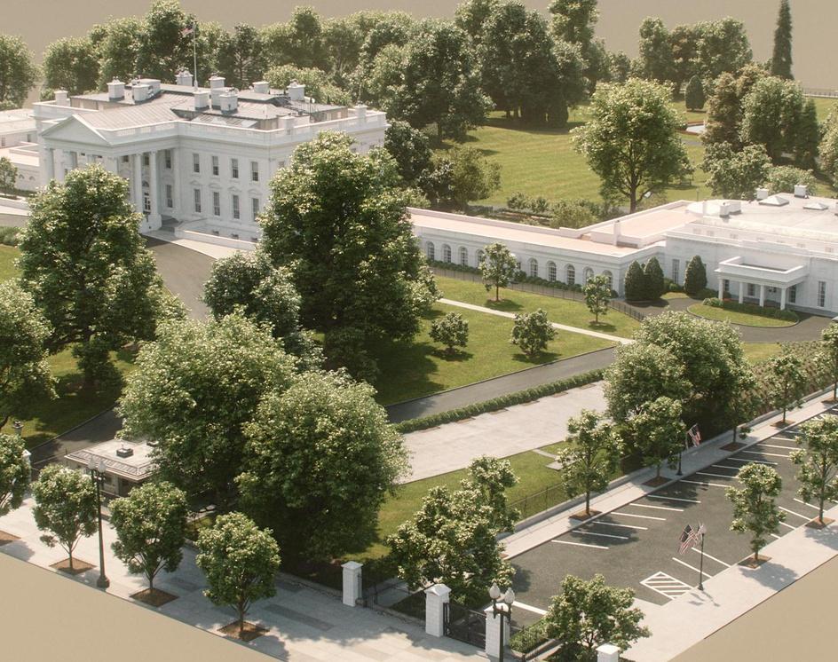 The White Houseby ACantarel