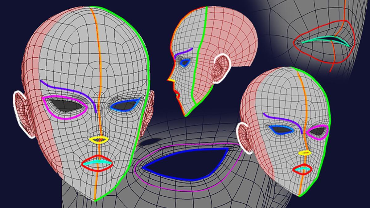 3d head sculpting