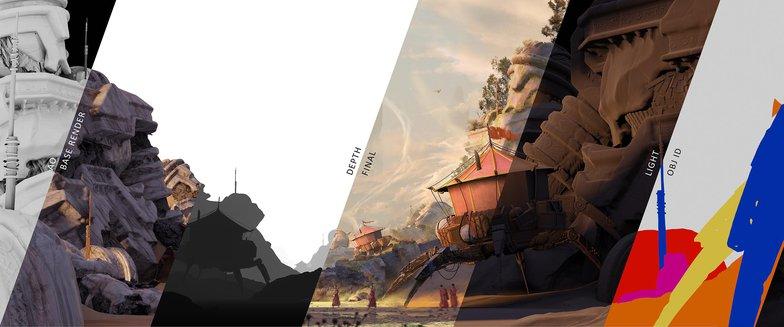 rendering development landscape