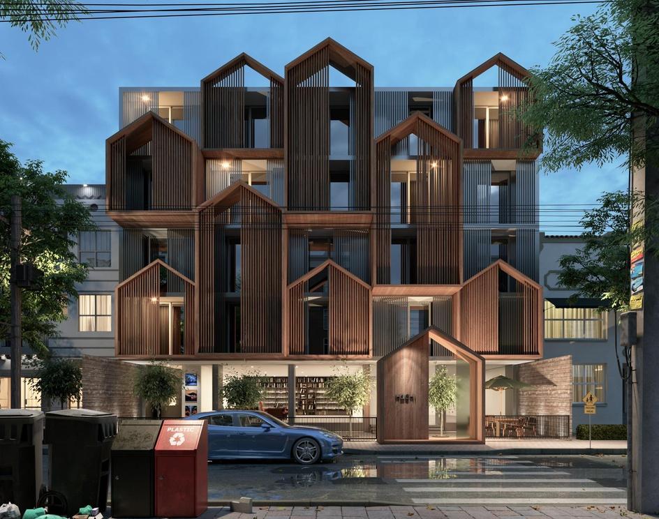 Hachi Apartmentby yones