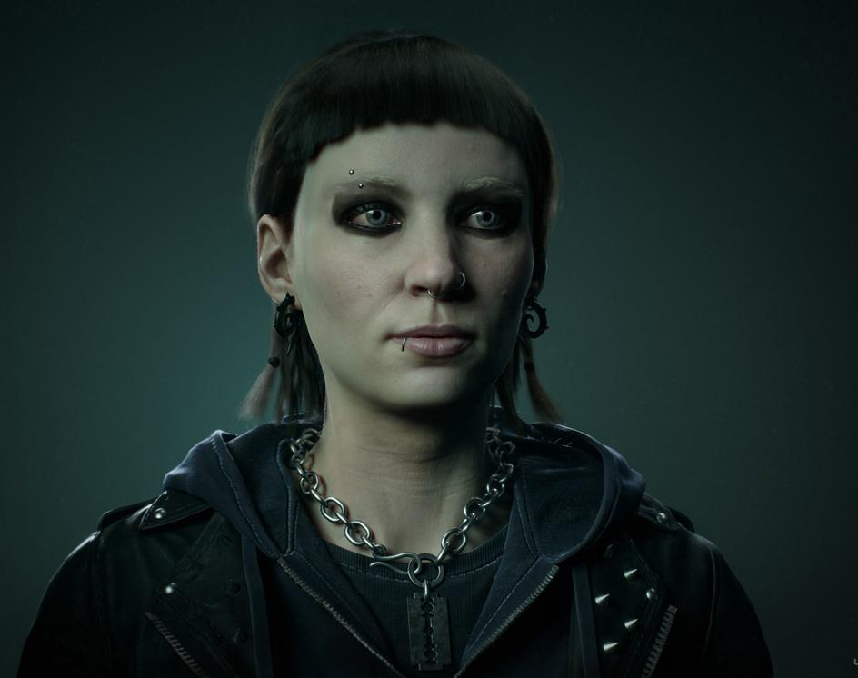 The Girl With The Dragon Tattoo - Lisbeth Salanderby Andrei- Mihai Bejan