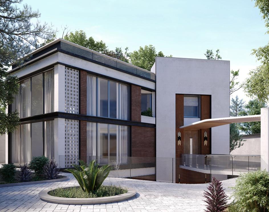 Villa for a friendby parisa panahi