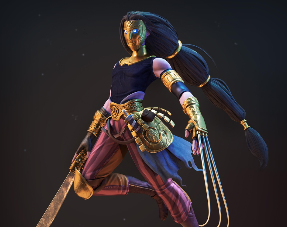 Vega - Street Fighter (redesign)by KucoEnciso