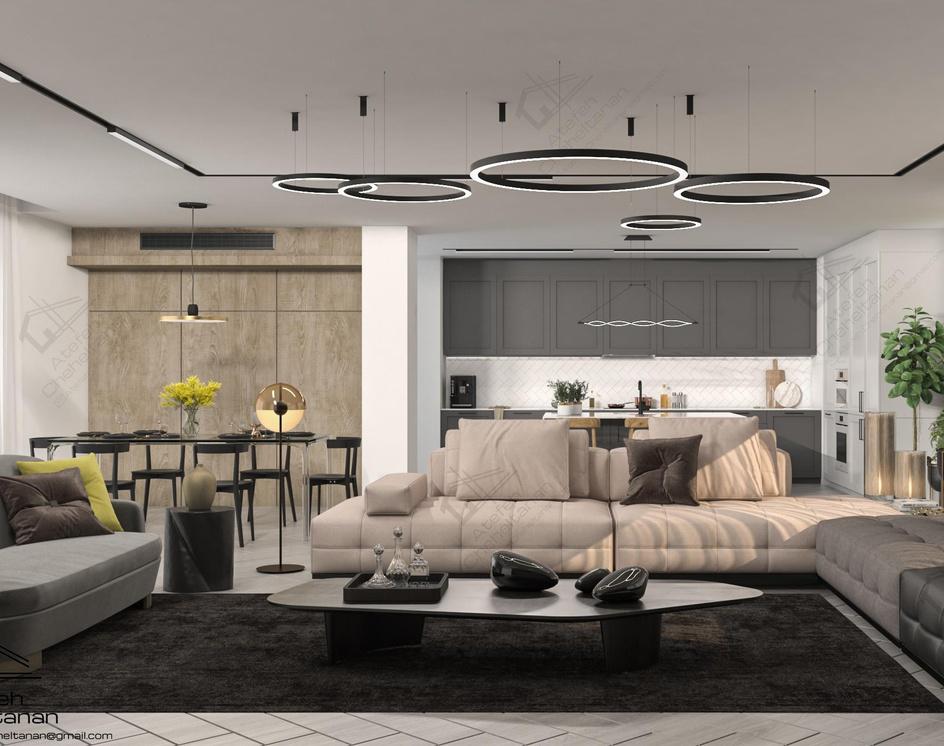 Modern Interior Designby Atefeh Cheheltanan