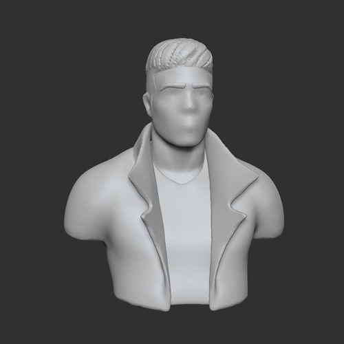 3d elements blocking basic shapes male madel character design