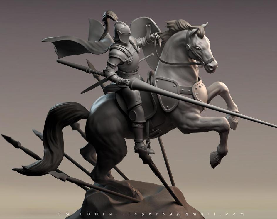 Holy Knightby S M Bonin