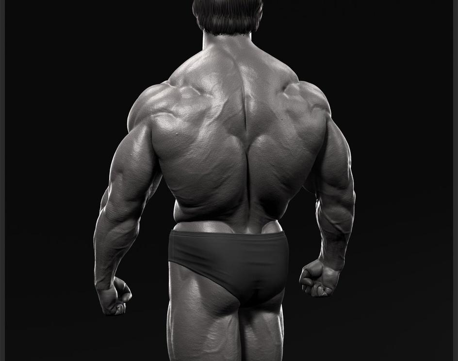 Arnold Schwarzenegger In the 70's.by prakashan.cheruvalli