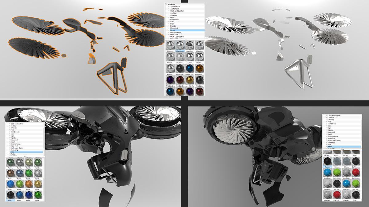 keyshot 3d modelling