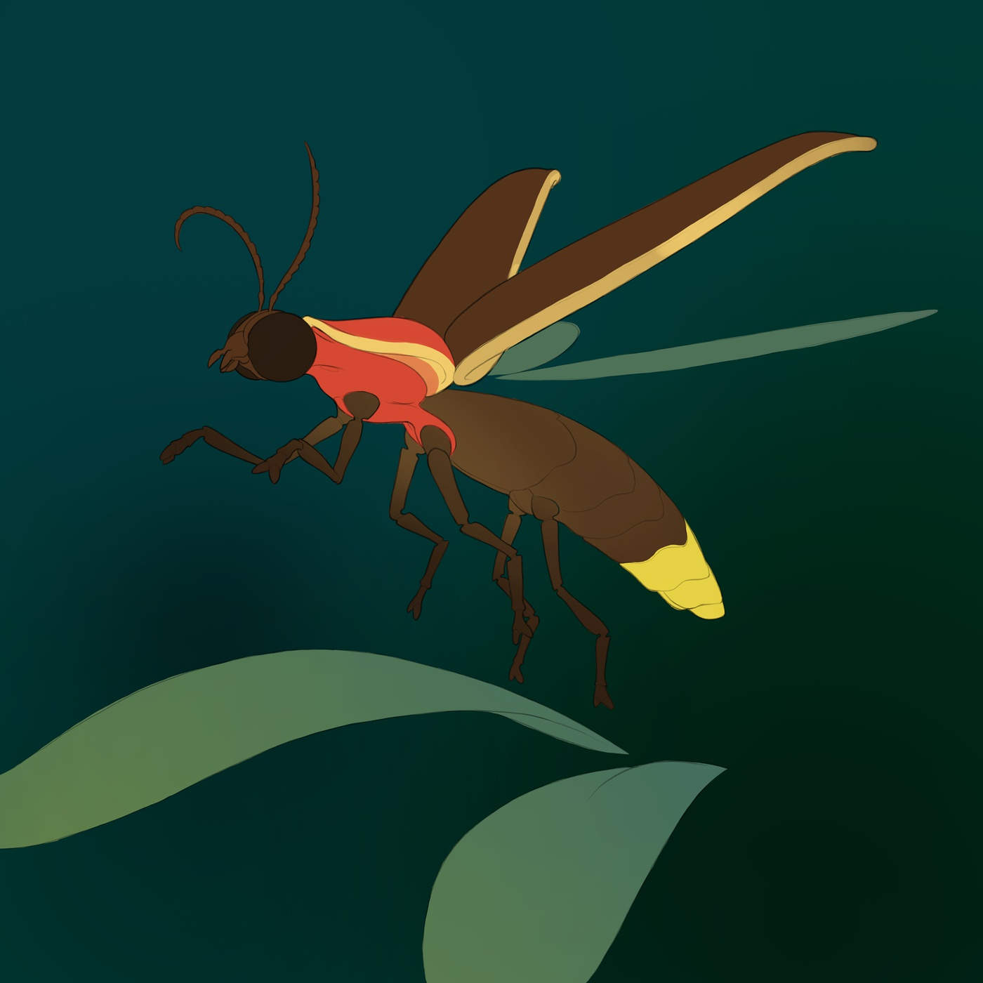 layer masking colouring glowing insect creature design model render glow effect photoshop