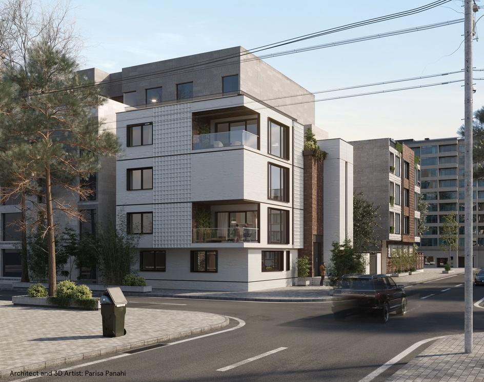 Modern Residential apartmentby parisa panahi