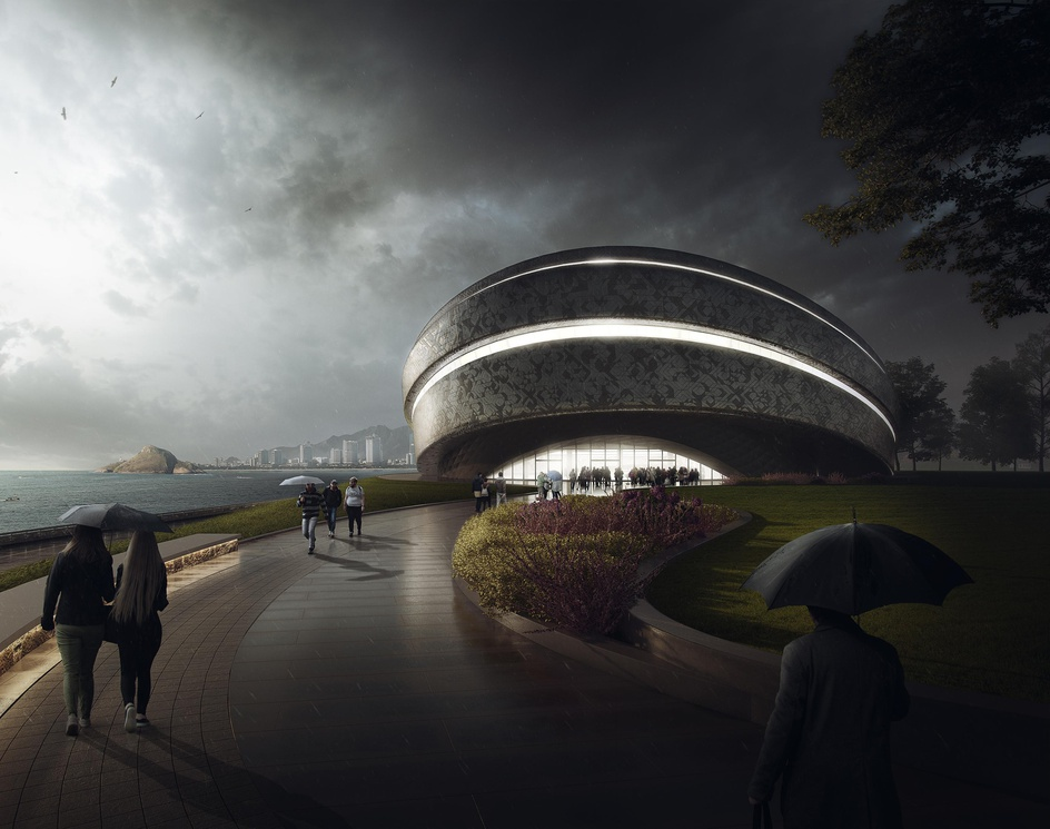 Center Of Modern Artby Lazarev Artem