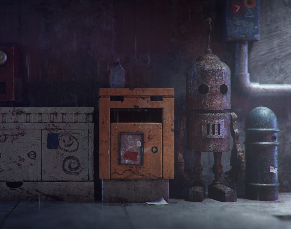 Rusty Robotby Emmanuel-Xuan Dubois