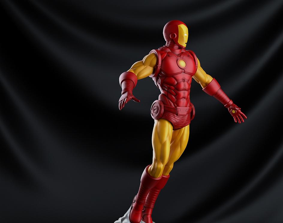 Iron Man Classicby Leandro Jorge
