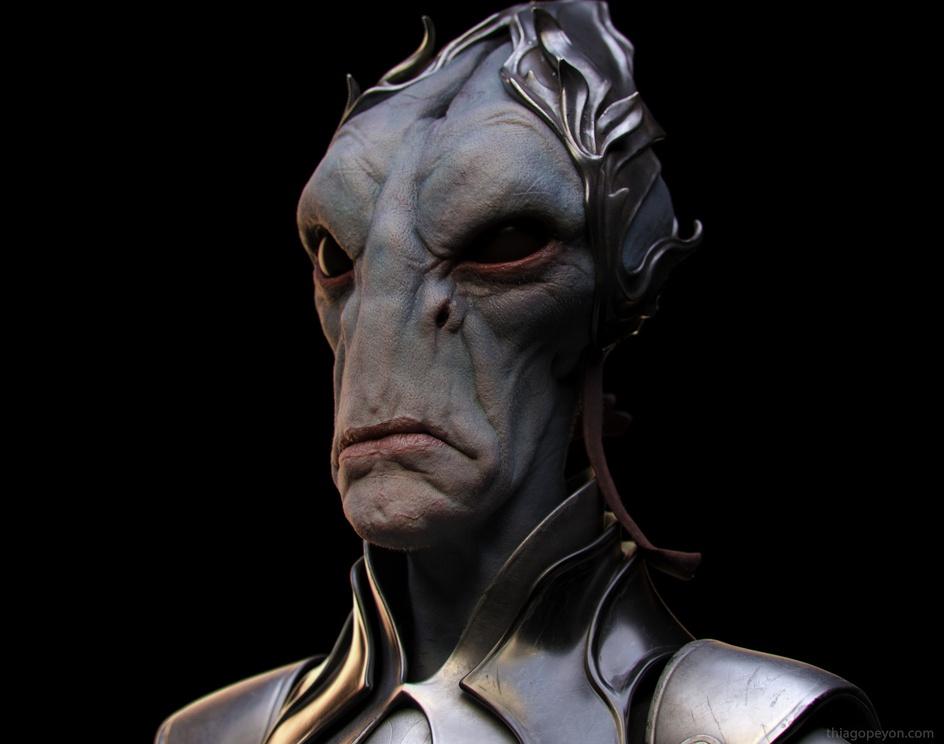 Salarian - Mass Effectby tpeyon