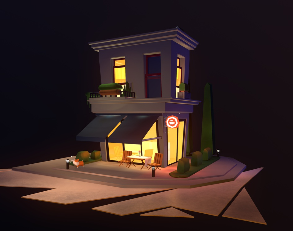 The Cafe - Nightby mateus bruno