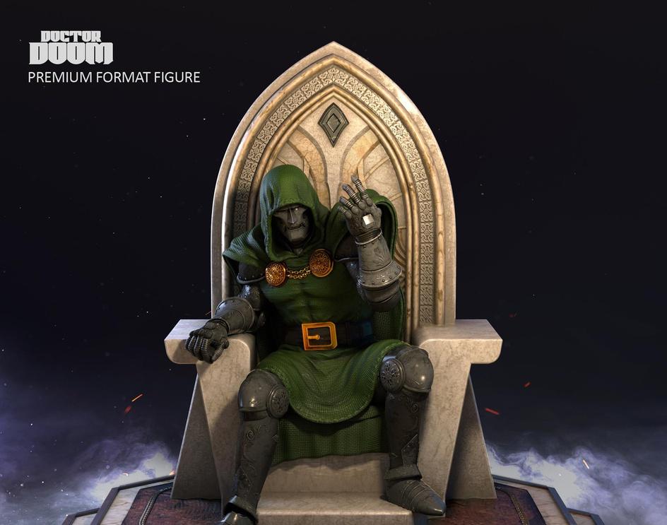 Dr. Doom fan artby jackmalone
