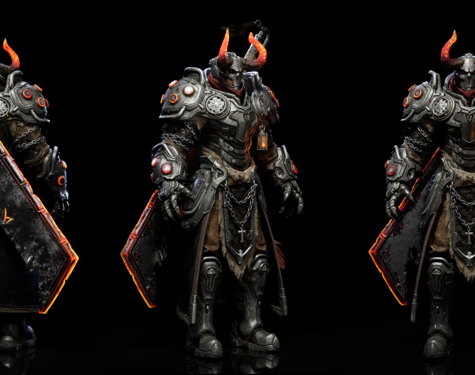 Azazel:Demon Slayer - Real-time Character/Design UE4by Frederic Daoust