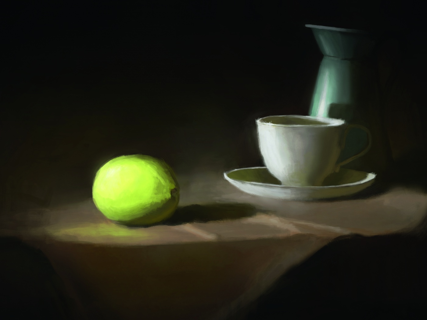 still life art painting