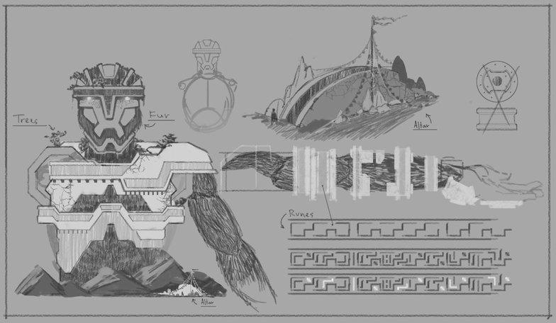 human armour sketch