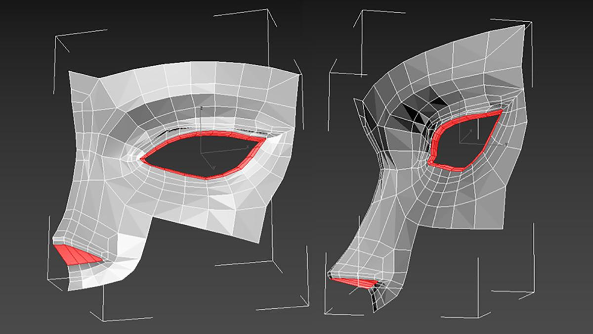 nose shaping 3d anime design