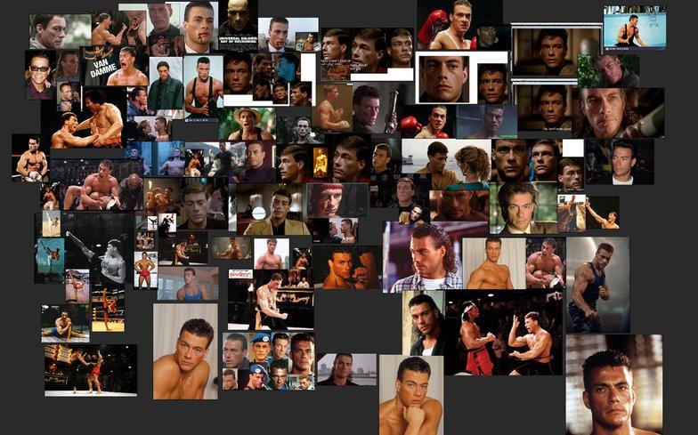 Van Damme boxing reference sheet