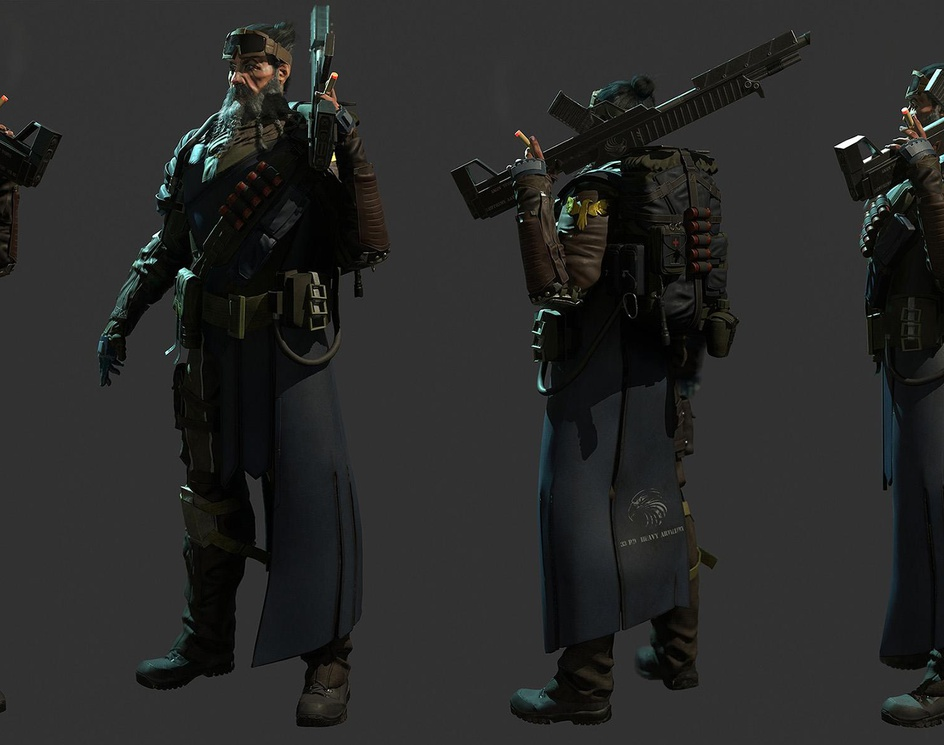 Soldier with Shotgunby Lucas Silva