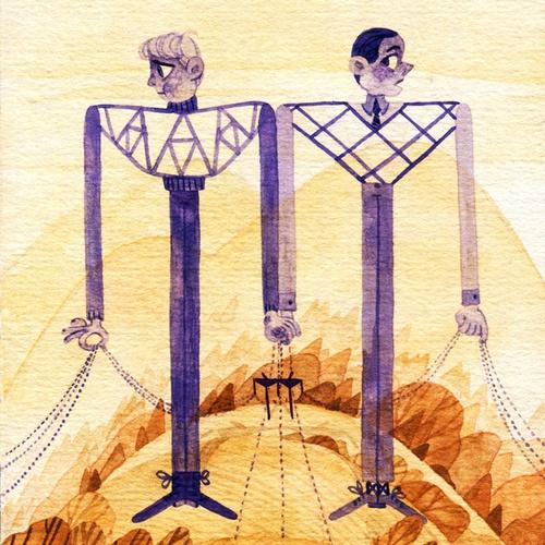 two pylon people