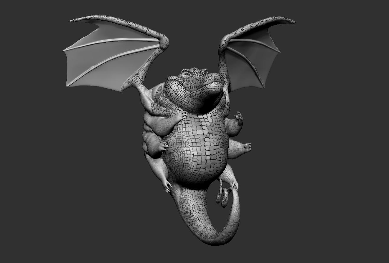 scales 3d model reptilian crocodile