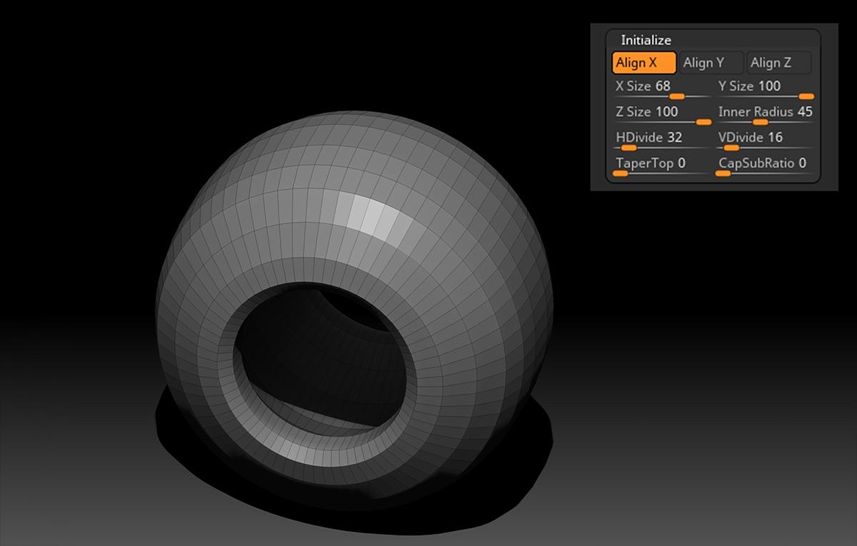 masks zmodeler rendering modeling 3d composition initializing