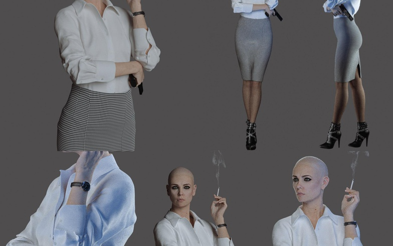 charlize theron character model