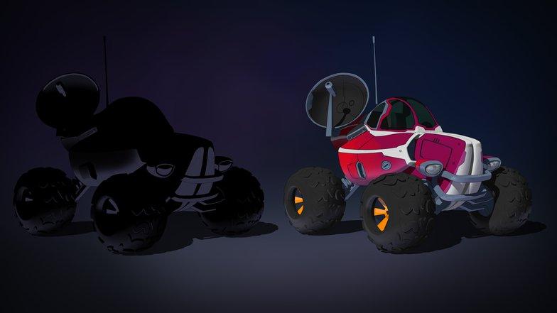 background design reflection pass rendering car tires  3d model