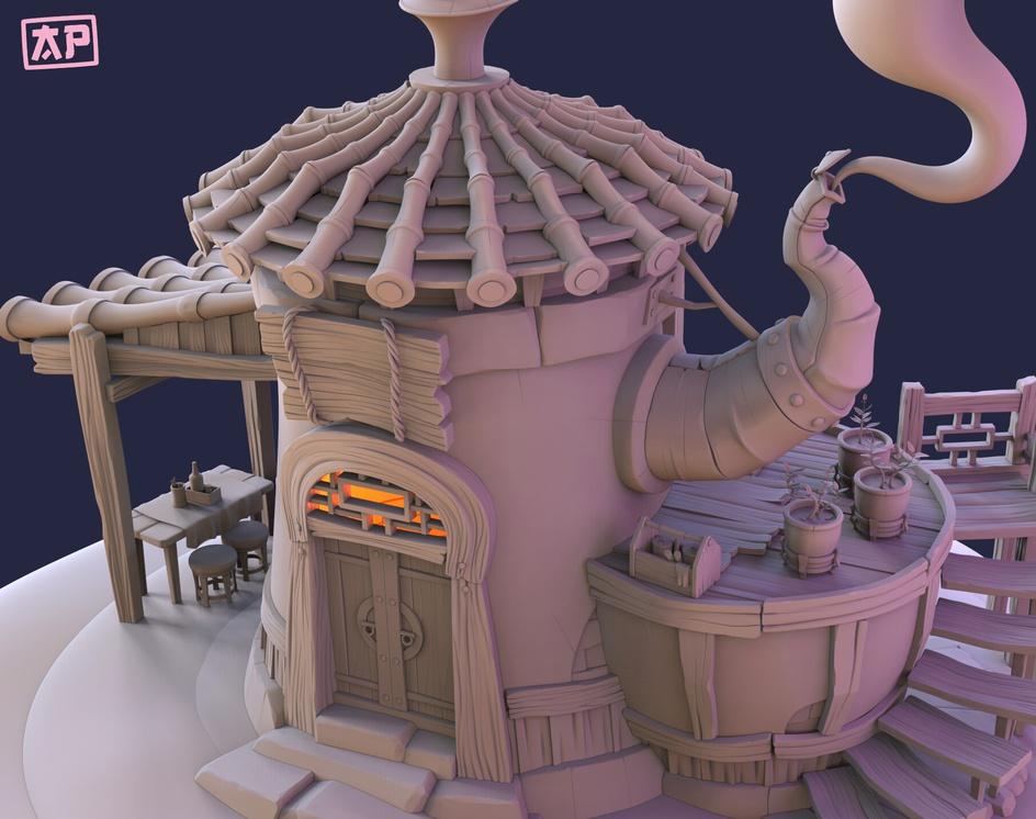 Tea Houseby Ana Parmigiani