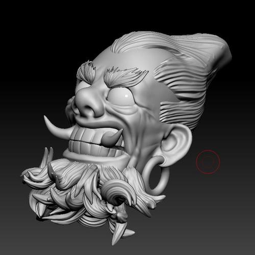 3d model base head shape character design