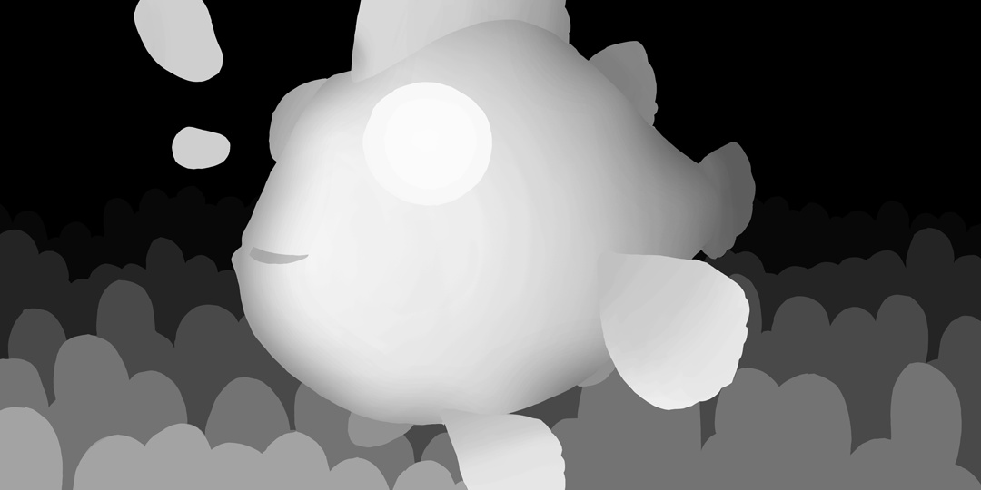 render 3d clownfish illustration coralreef ocean sea
