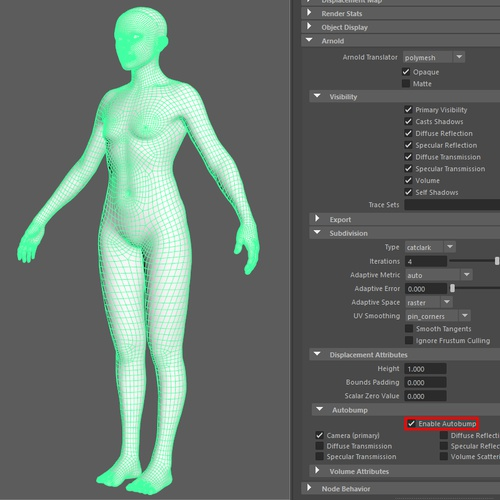 3d modelling specifications