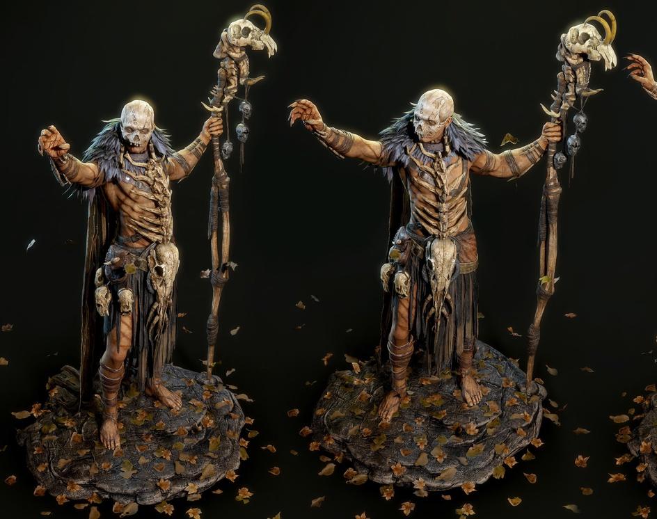 Barbarian Shaman (Fan Art Real Time)by saurabh