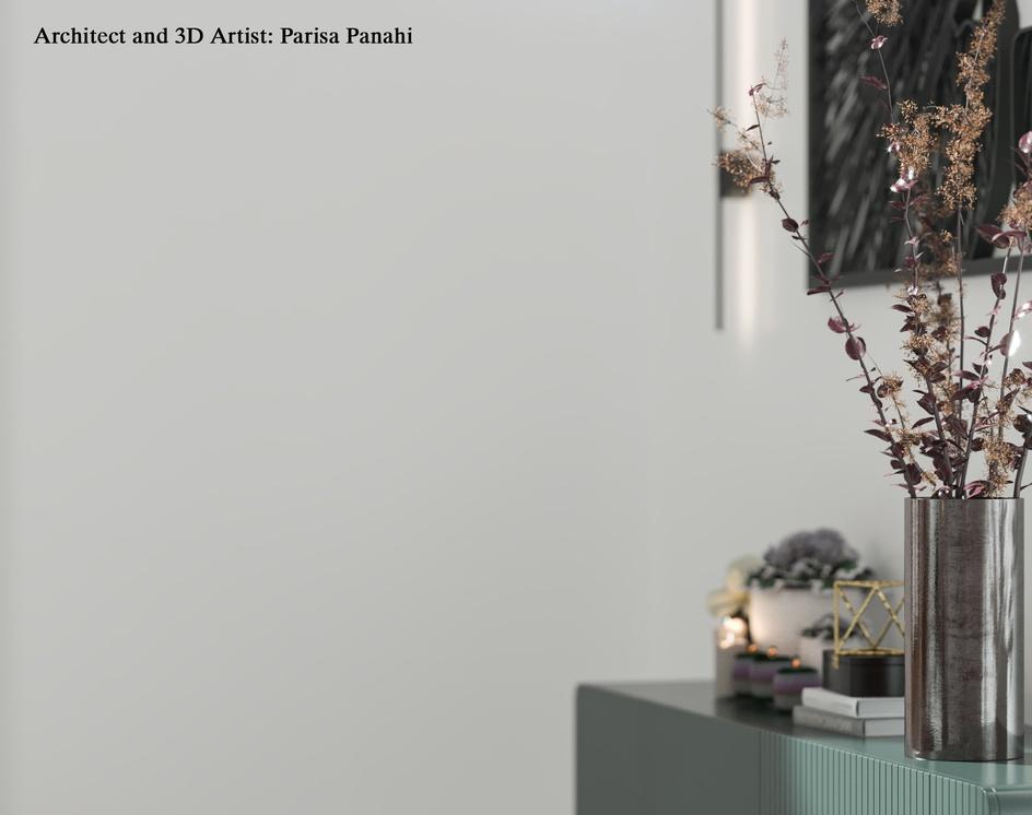 A modern villaby parisa panahi