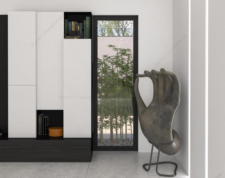 White Minimal Villa-Interior Designby Atefeh Cheheltanan