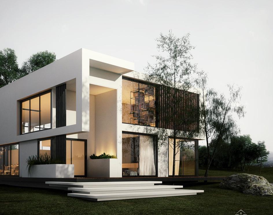 villa designingby Mahdiyeh Azar