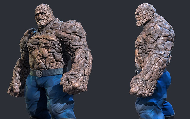 the thing, fantastic four