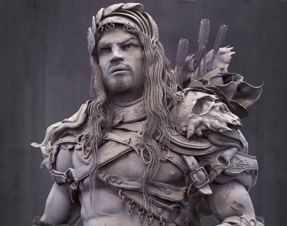 warrior conceptby farzad maleki