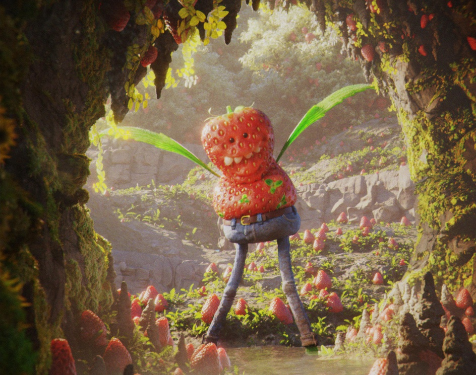Strawberry Monsterby Eric Cunha