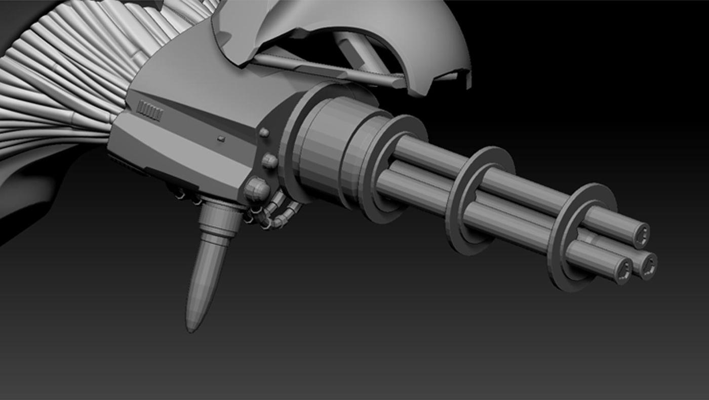 IMM Spaceship 3d model