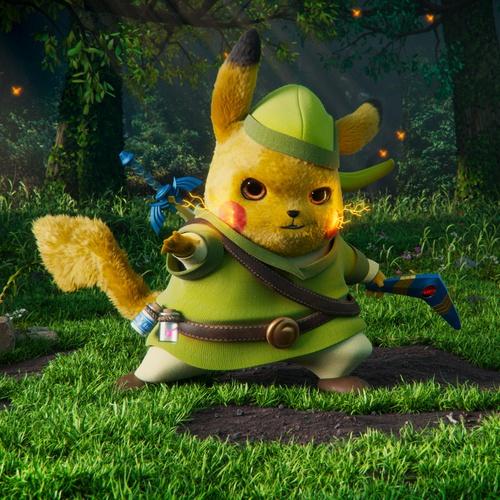 anime gaming character design mode pikachu zelda