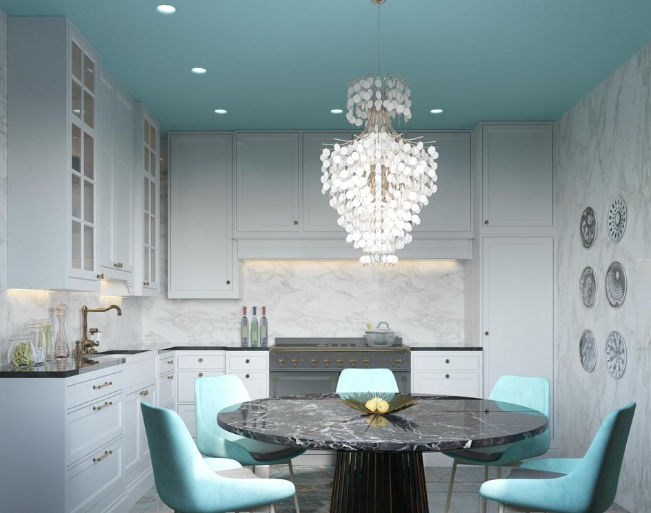 Elegant kitchen projectby Archviz.Studio